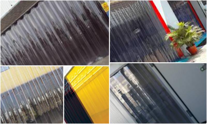 PVC Şerit Perdelerin Avantajları
