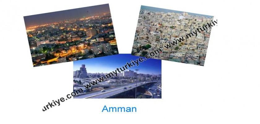 Beyaz Evleriyle Mistik Bir Tatil, Amman