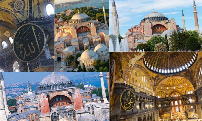 Ayasofya Camisi'nin Tarihi ve Yakın Geçmişi