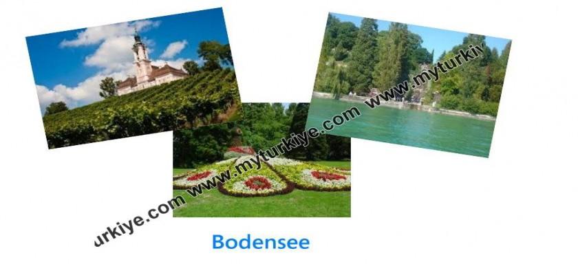 İsviçre ile Almanya Ortasında Muhteşem Bir Göl, Bodensee