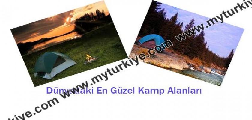 Dünyadaki En Güzel Kamp Alanları