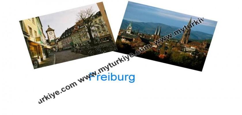 Almanya'nın Güneşli Şehri, Freiburg