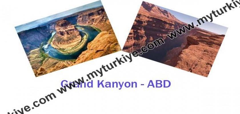 Görülmesi Gereken Yerler, Grand Kanyon, ABD