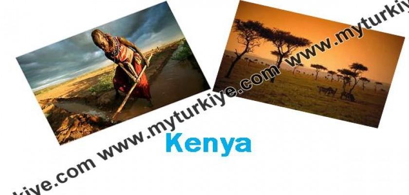 Kenya'ya Yukarıdan Bakın