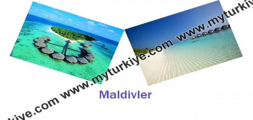 Maldivler'de Balayı Tatili