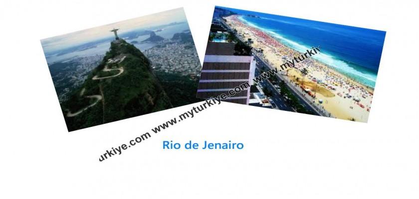 Rio de Jenairo'da Tatil