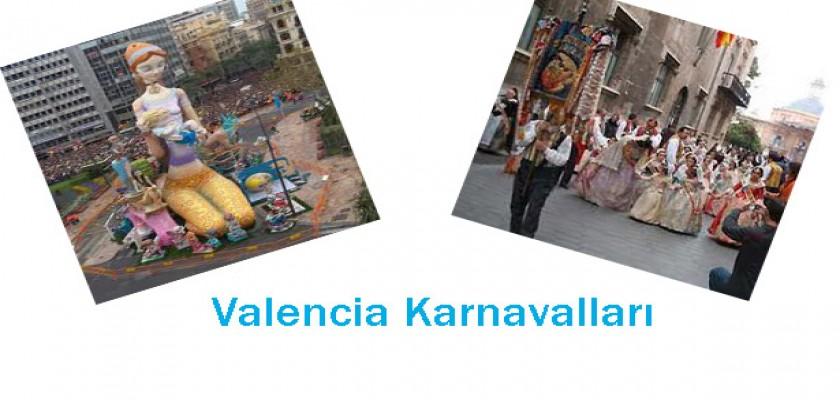 Karnavallar Şehri Valencia