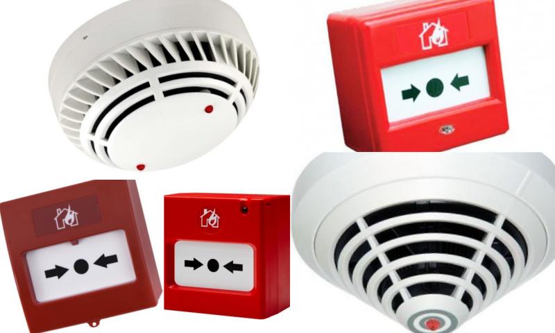 Yangın Sensörleri İle Güvenlik